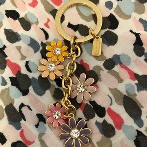 Coach flower keychain 🌸🌸